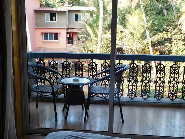 View from my hotel Goa