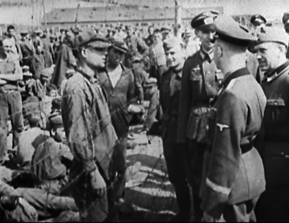 Heinrich Himmler Visited Concentration Camp