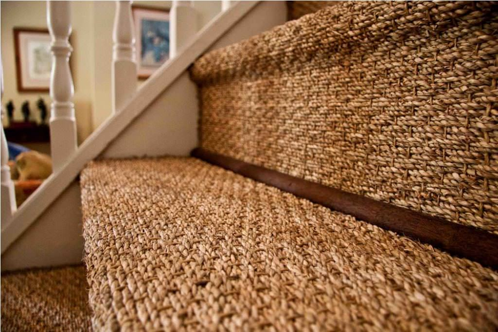 Sea grass Carpet Stairs Ideas
