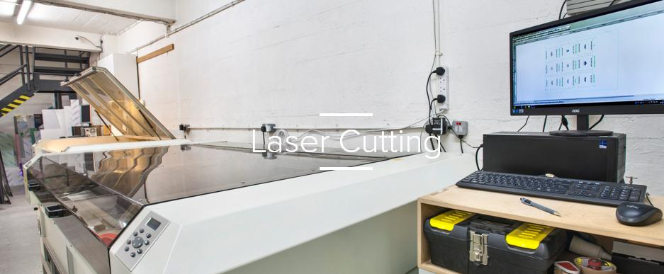 laser cutting service London