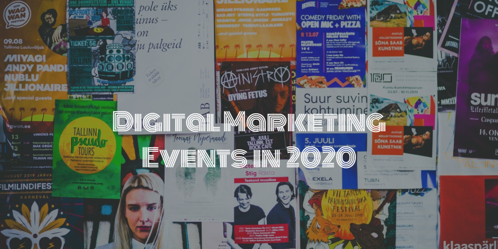Digital marketing events in 2020